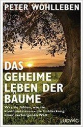 Book cover of the German edition of the Social Life of Trees