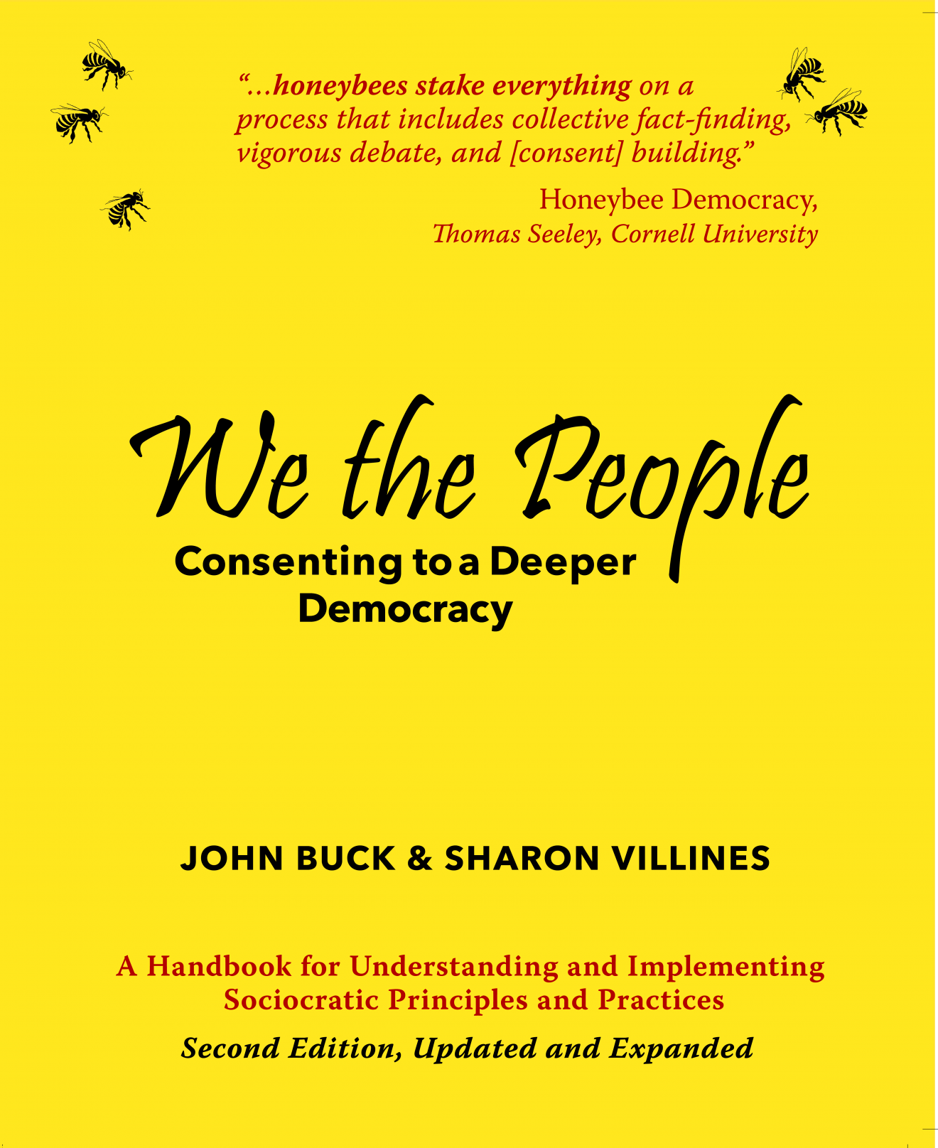Front cover of the second edition of We the People