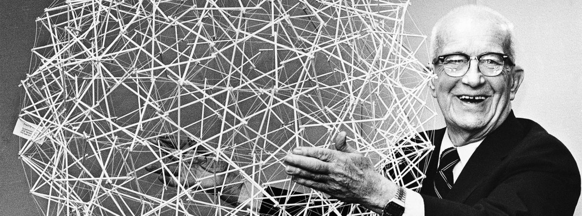 Buckminster Fuller and his Geodesic Dome